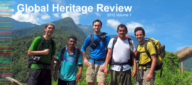 Global Heritage Review 2011 Vol 4