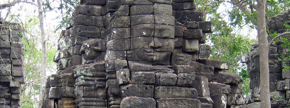 GHF UK - Face Tower in Banteay Chhmar, Cambodia.