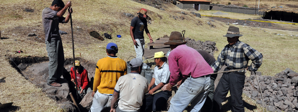 How You Can Help - Excavation and conservation at Chavín de <br />Huántar, Peru.