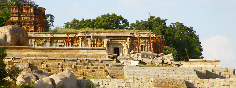 Become a Site Monitor - Chandramauleshwar Temple, site of GHF-sponsored conservation work at Hampi, India.