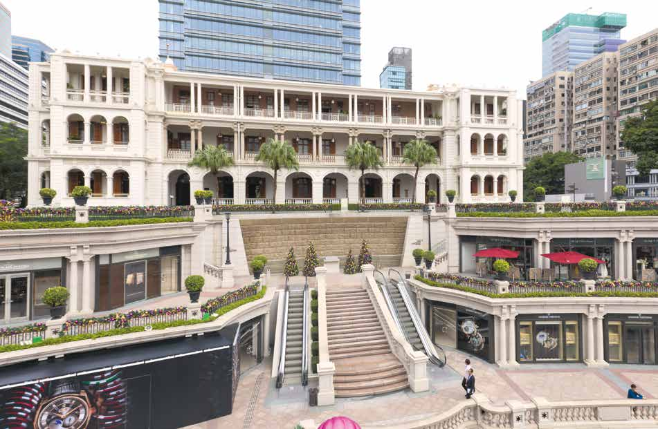 1881 Heritage in Tsim Sha Tsui, Hong Kong, is a former Former Marine Police Headquarters Compound cum luxury shopping centre.